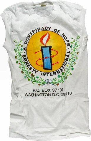 Amnesty International Benefit Men's Vintage T-Shirt