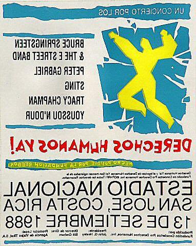 Amnesty International Benefit Sticker