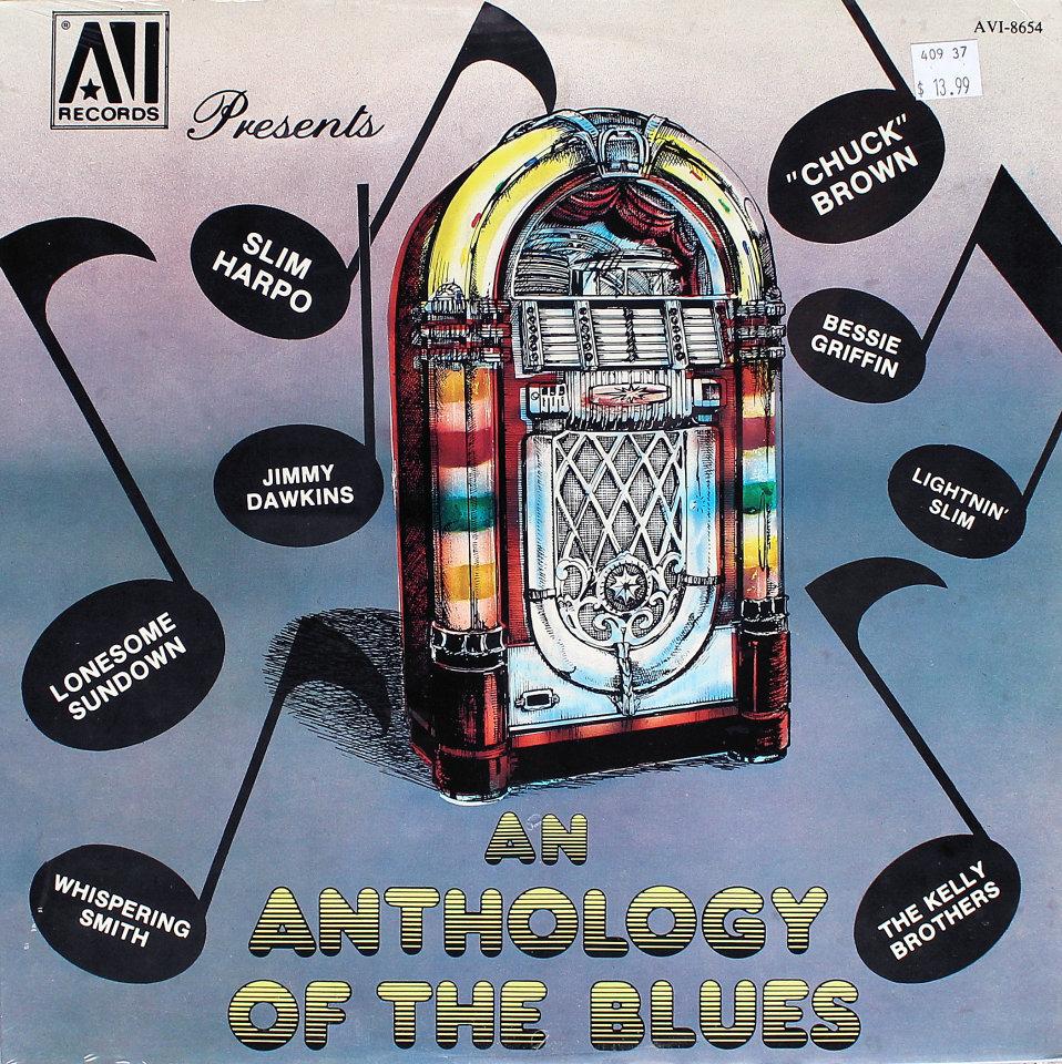 "An Anthology Of The Blues Vinyl 12"" (New)"