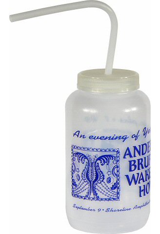 Anderson Bruford Wakeman Howe Water Bottle reverse side