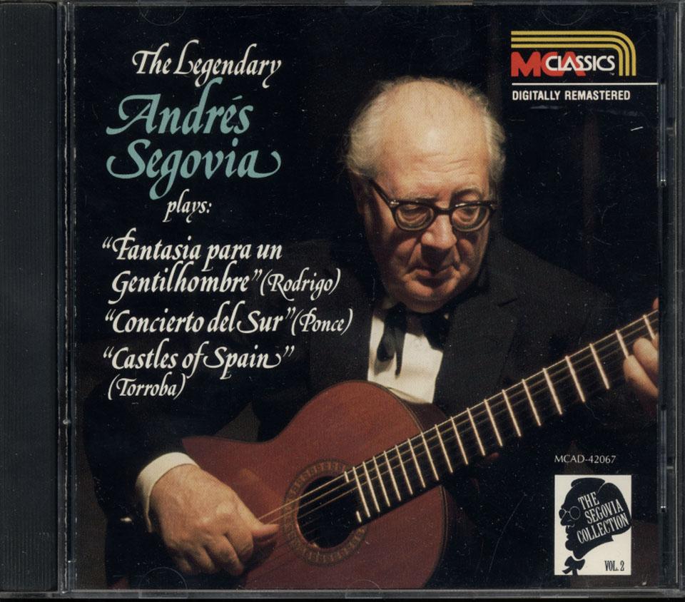 Andres Segovia CD
