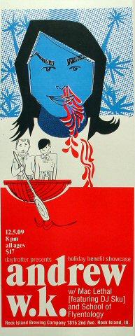 Andrew W.K. Poster
