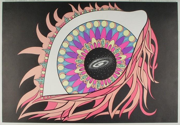 Andromeda Mandala Poster