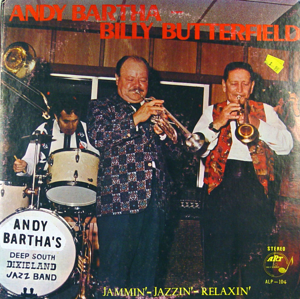 "Andy Bartha & Billy Butterfield Vinyl 12"" (New)"