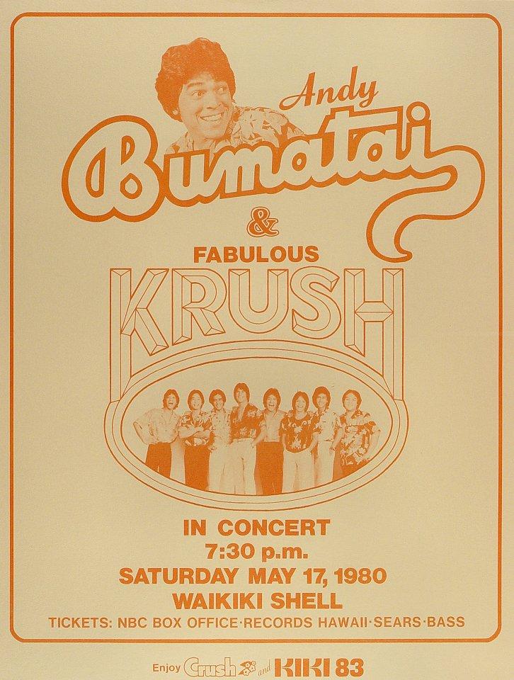 Andy Bumatai Poster