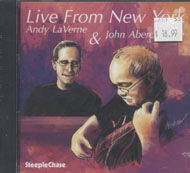 Andy LaVerne & John Abercrombie CD