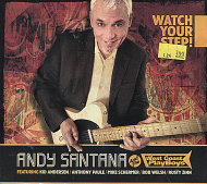 Andy Santana & The West Coast Playboys CD
