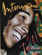 Andy Warhol's Interview Vol. XIX No. 11 Magazine