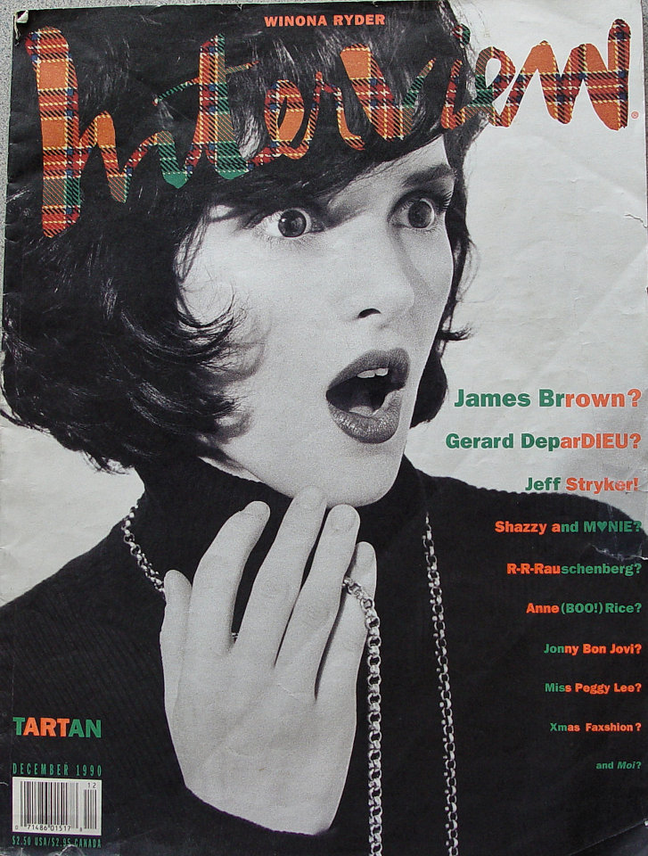 Andy Warhol's Interview Vol. XX No. 12