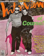 Andy Warhol's Interview Vol. XXII No. 11 Magazine