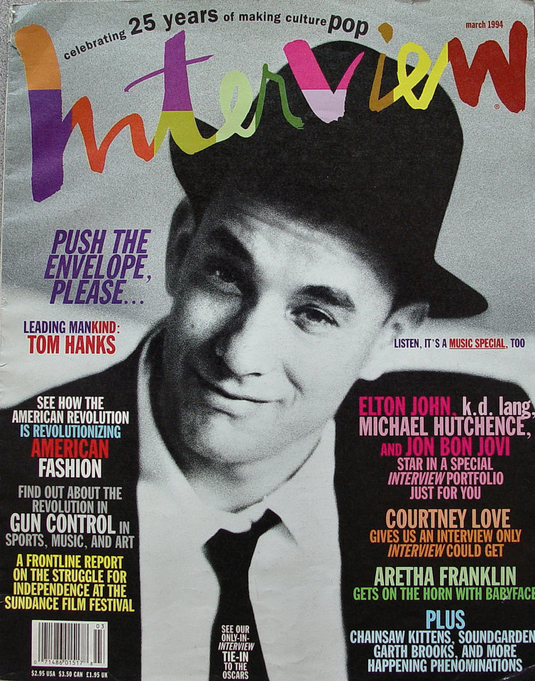 Andy Warhol's Interview Vol. XXIV No. 3