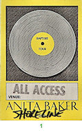 Anita Baker Backstage Pass