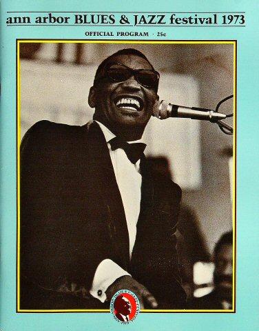 Ann Arbor Blues and Jazz Festival Program
