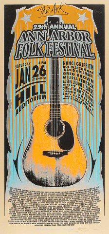 Ann Arbor Folk Festival Poster