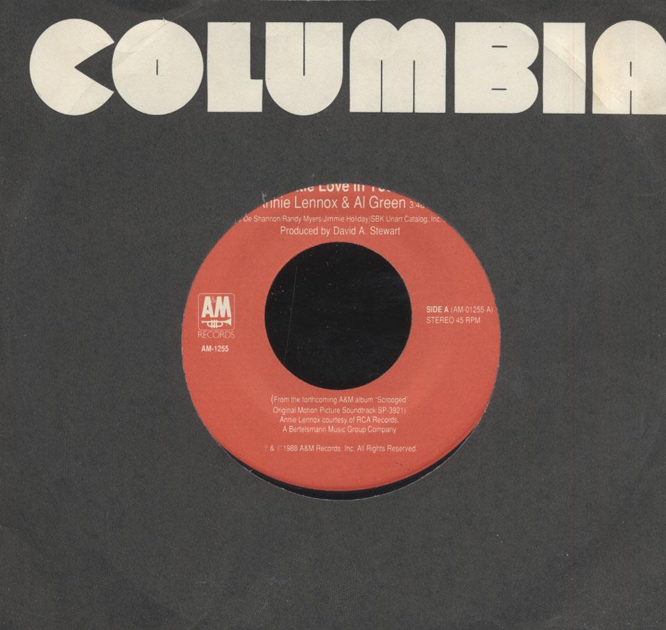 "Annie Lennox & Al Green / The Spheres Of Celestial Influence Vinyl 7"" (Used)"