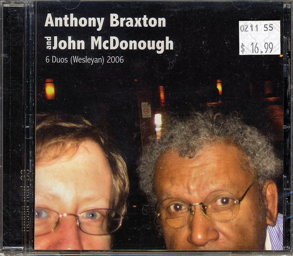 Anthony Braxton & John McDonough CD