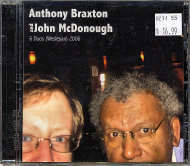 Anthony Braxton & John McDonough CD