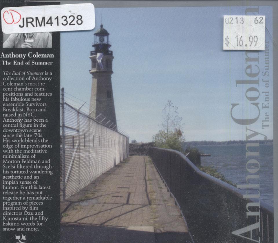 Anthony Coleman CD