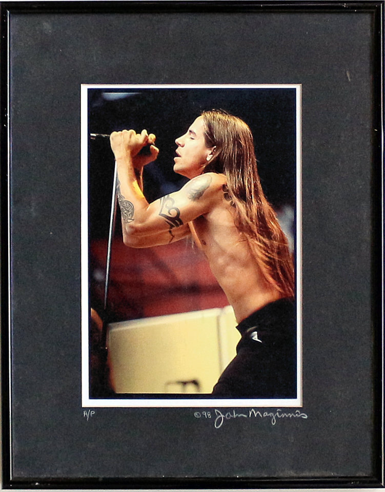 Anthony Kiedis Framed Vintage Print