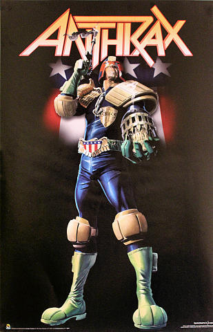 Anthrax - Judge Dredd Poster
