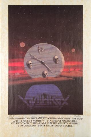Anthrax Serigraph