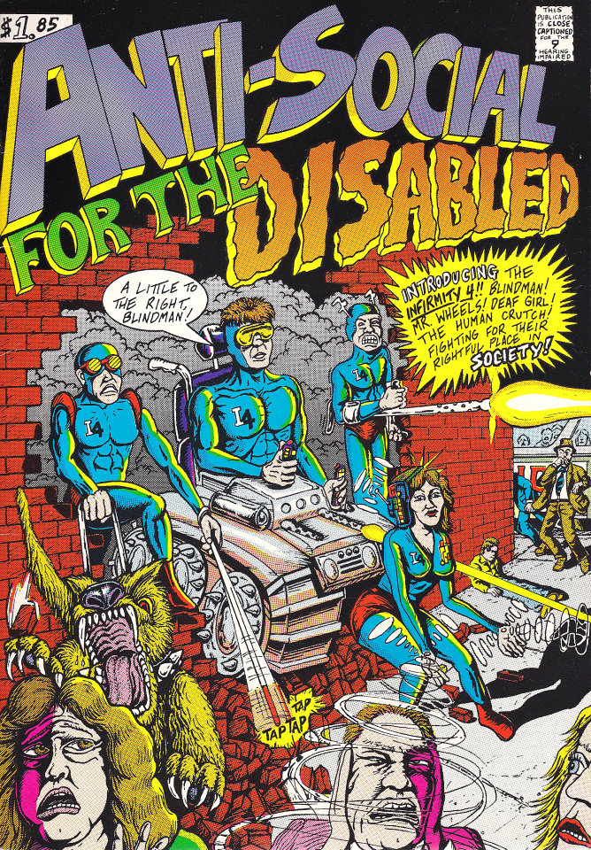 Anti-Social for the Disabled Comic Book