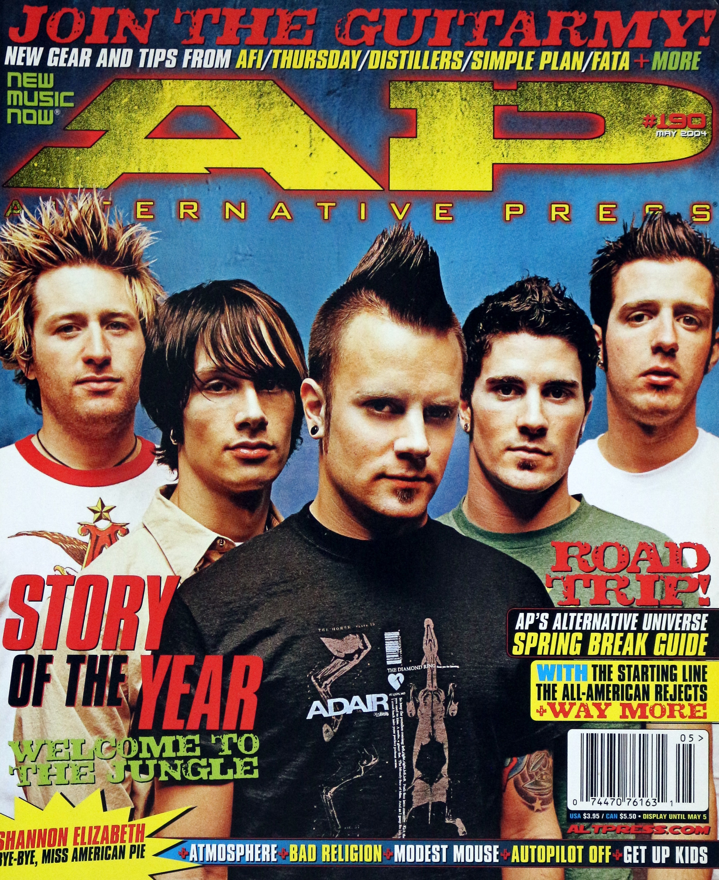 AP Alternative Press #190 Magazine