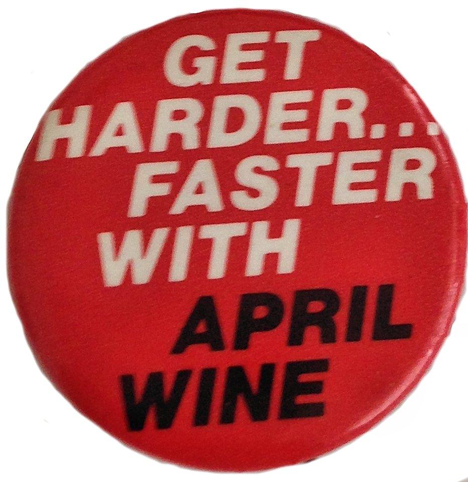 April Wine Pin