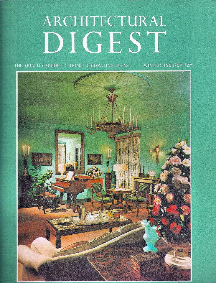 Architectural Digest Dec 1,1968