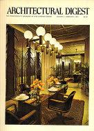 Architectural Digest Jan 1,1972 Magazine