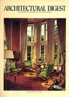 Architectural Digest Jul 1,1971 Magazine