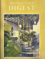 Architectural Digest June 1966 Magazine