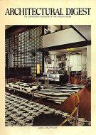 Architectural Digest Mar 1,1971 Magazine