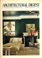 Architectural Digest Nov 1,1973 Magazine
