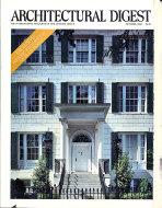 Architectural Digest Oct 1,1988 Magazine