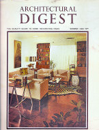 Architectural Digest Vol. XXV No. 1 Magazine