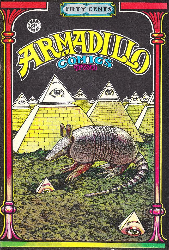 Armadillo Comics #2 Comic Book