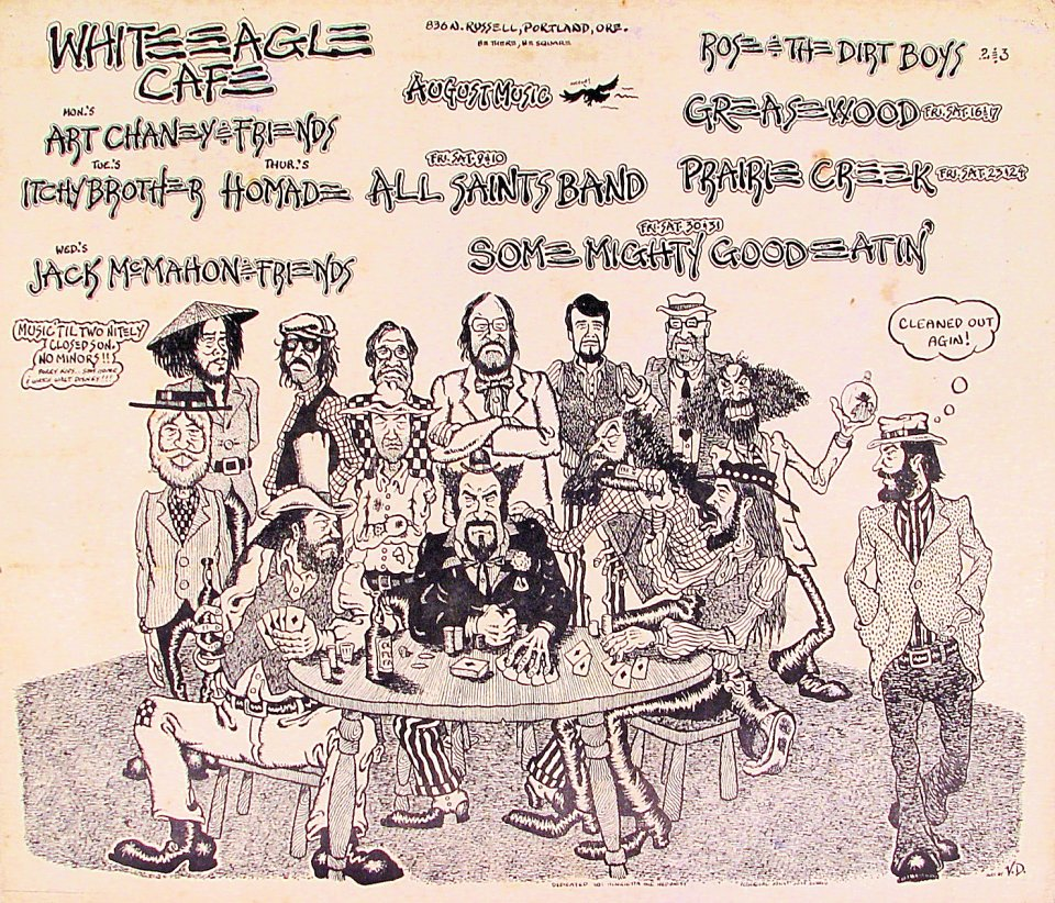 Art Chaney & Friends Poster