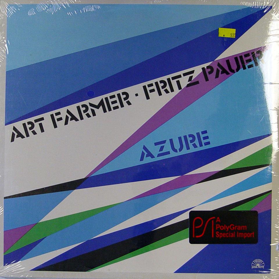 "Art Farmer / Fritz Pauer Vinyl 12"" (New)"