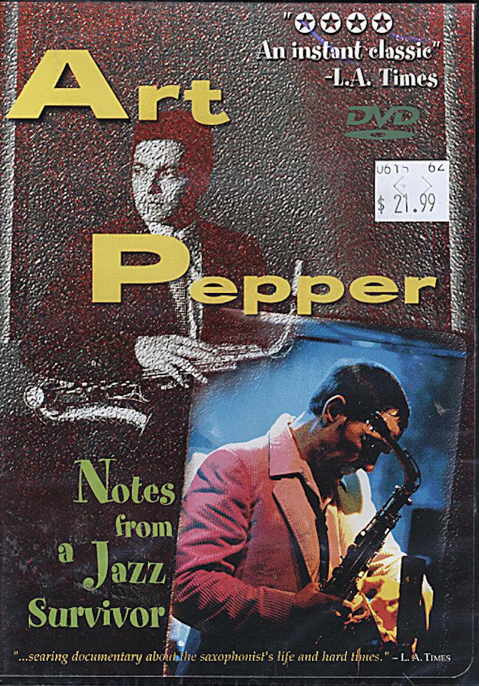 Art Pepper DVD