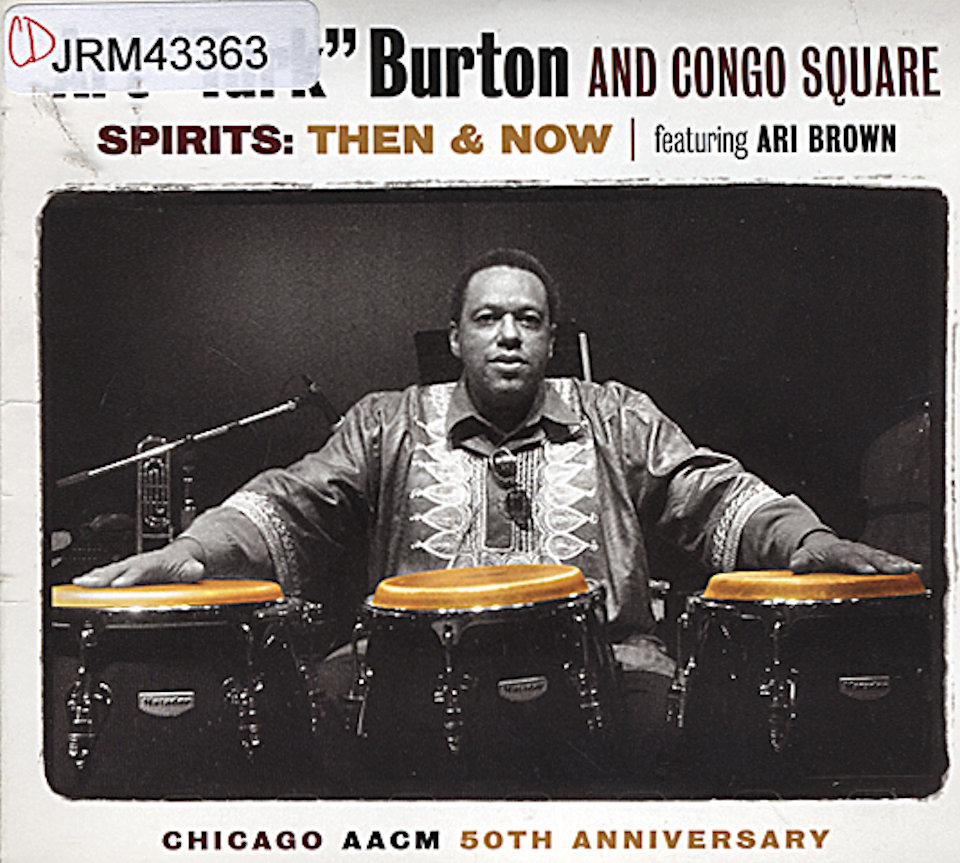 "Art ""Turk"" Burton and Congo Square CD"