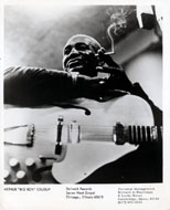 "Arthur ""Big Boy"" Crudup Promo Print"
