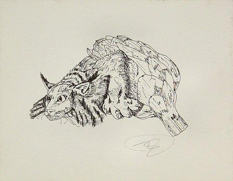 Artichoke-Lynx Handbill