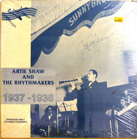 "Artie Shaw And The Rhythmakers Vinyl 12"" (New)"