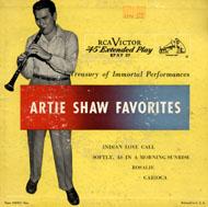 """Artie Shaw Vinyl 7"""" (Used)"""