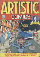 Artistic Comics Comic Book