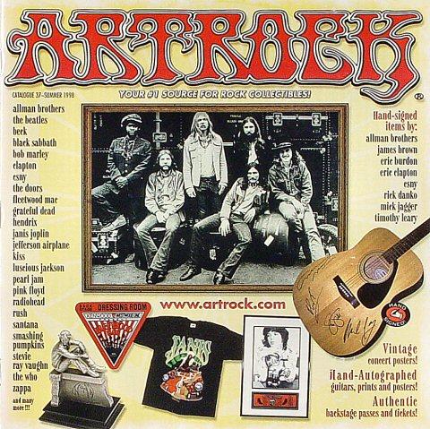 ArtRock Catalogue #37 Program