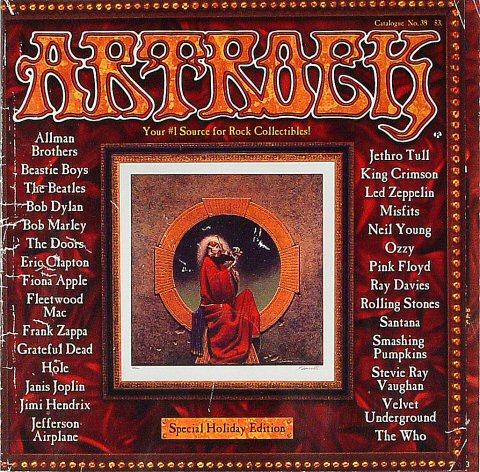 ArtRock Catalogue #38 Program