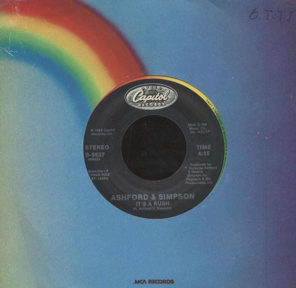 """Ashford and Simpson Vinyl 7"""" (Used)"""