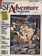 Asimov's SF Adventure Vol. 1 No. 1 Magazine